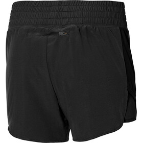 Mizuno ER 4.5 2in1 Shorts Women, black
